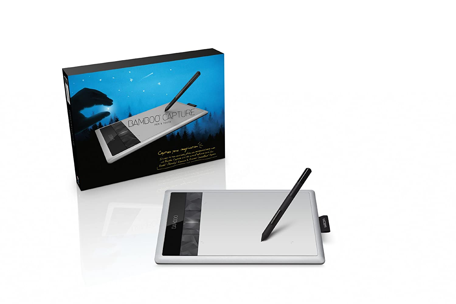 amazon com wacom bamboo capture pen and touch tablet cth470 rh amazon com Wacom Bamboo Create Drivers Wacom Bamboo Create Drivers