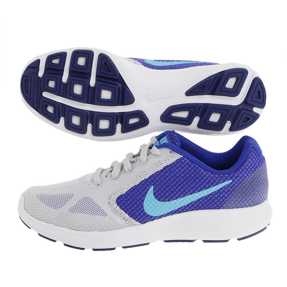 NIKE Women's Revolution 3 Running Shoe B014EC6UYY 7 B(M) US|Pure Platinum/Concord/Persian Violet/Gamma Blue