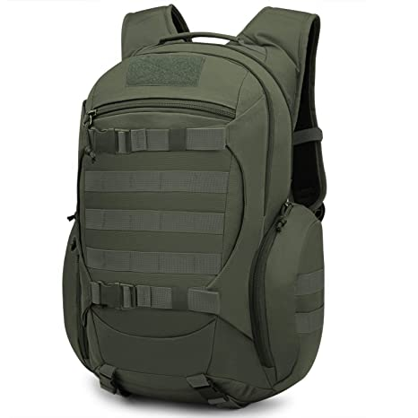 baf7d5436b61 Mardingtop 28L Tactical Backpacks Molle Hiking daypacks for Camping Hiking  Military Traveling 28L-Army Green