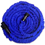 KLAREN Garden Hose, Expandable Garden Hose, 26ft Expanding Garden Hose Lightweight Durable Heavy Duty Flexible Pressure Washer Water Hose for Car Wash Cleaning Watering Lawn Garden Plants