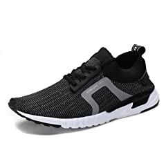 0542f2aba2b UNMK FUN Women s Fashion Lightweight Sneakers Breathable Mesh Soft Sole  Casual Athletic Running Walking Shoes - Casual Women s Shoes