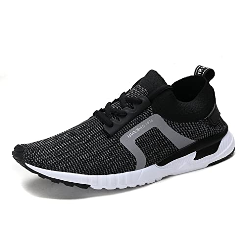 9fd96b6f5ae81 UNMK FUN Women's Fashion Lightweight Sneakers Breathable Mesh Soft Sole  Casual Athletic Running Walking Shoes