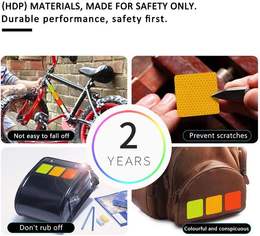 Cobear 26x Hoch Intensives Reflektoren Aufkleber Selbstklebend Für Lkw Auto Motorrad Boot Fahrrad Anhänger Helm Taschen Buchstabe A Z Typ Weiß Auto