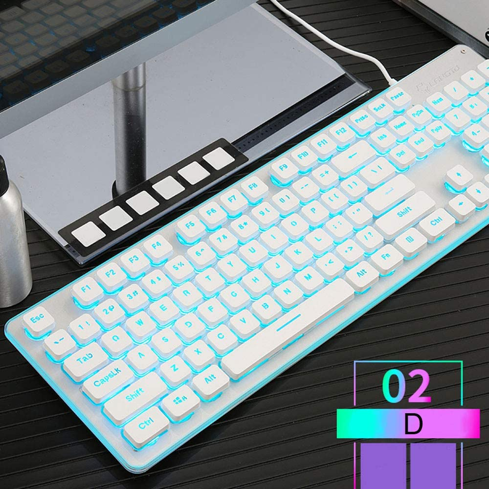 Gaming Keyboard Zeshlla 38 Buttons with Led Backlight and USB Background
