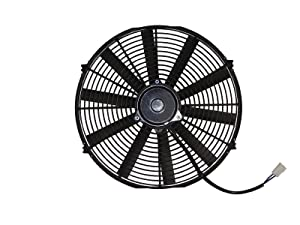 "Maradyne MP166K-6 Pacesetter Series 16"" 6 Volt Universal Fan (160W Reversible Straight Blade)"