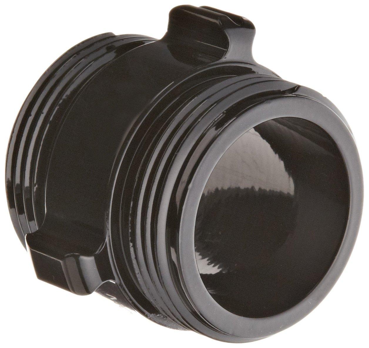 Moon 378-1521524 Aluminum Fire Hose Adapter, Rocker Lug, 1-1/2'' NH x 1-1/2'' NH Double RL Male