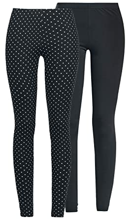393c61f0c866b RED by EMP Built For Double Comfort Leggings black: Amazon.co.uk: Clothing
