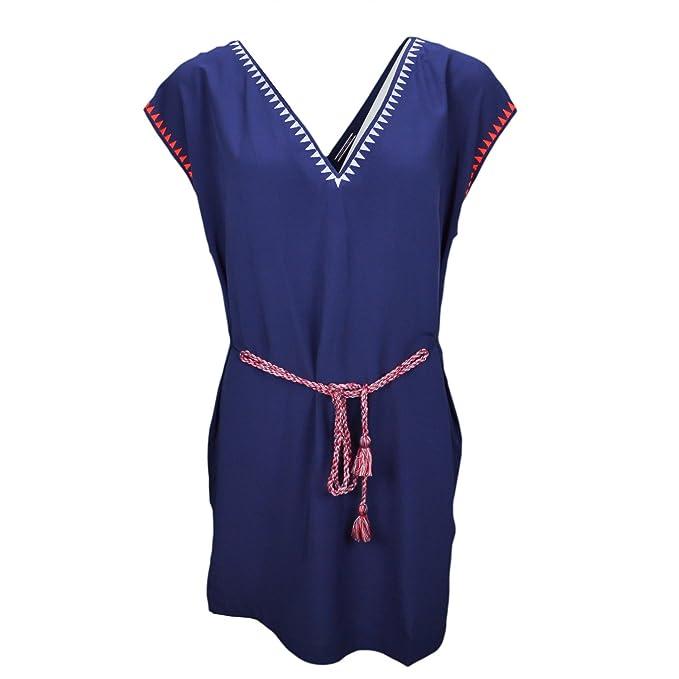 Tommy Hilfiger - Vestido - Blusa - para mujer azul XL