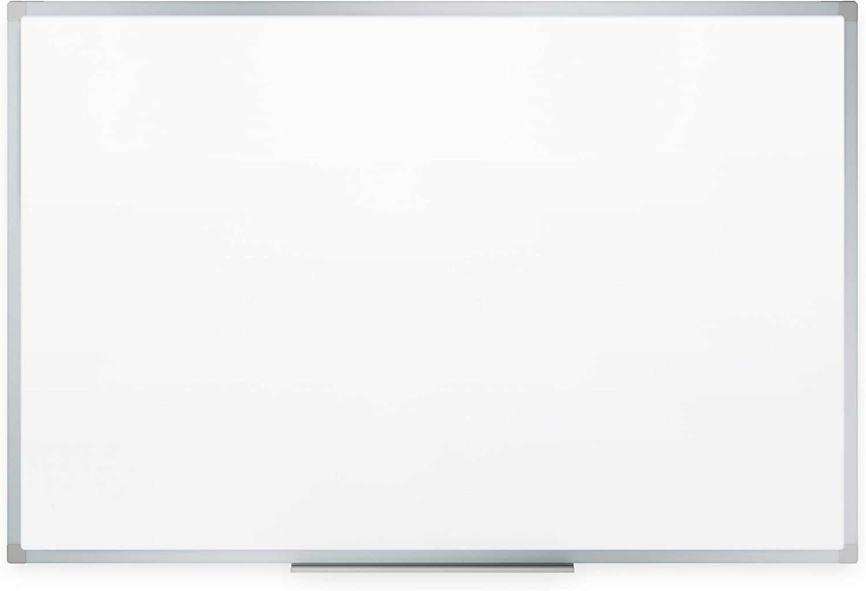 Mead Dry Erase Board, Whiteboard / White Board, 8' x 4', Silver Finish Aluminum Frame (85359) (Renewed)