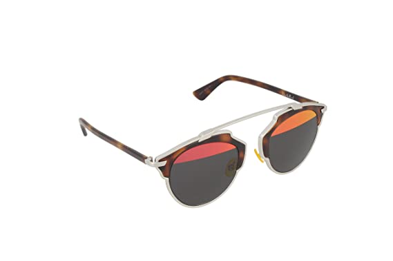 eda812e8194 Image Unavailable. Image not available for. Color  Dior Sunglasses Dior So  Real Sunglasses AOOTT Silver and ...