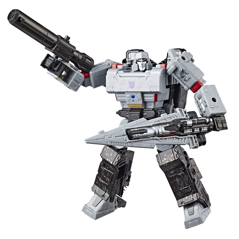 Transformers Generations War For Cybertron Siege Voyager Class Wfc S12 Megatron Action Figure