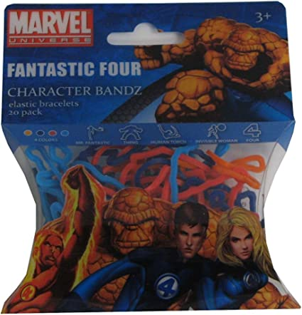 Amazon Com Marvel Fantastic Four Character Bandz Toys Games