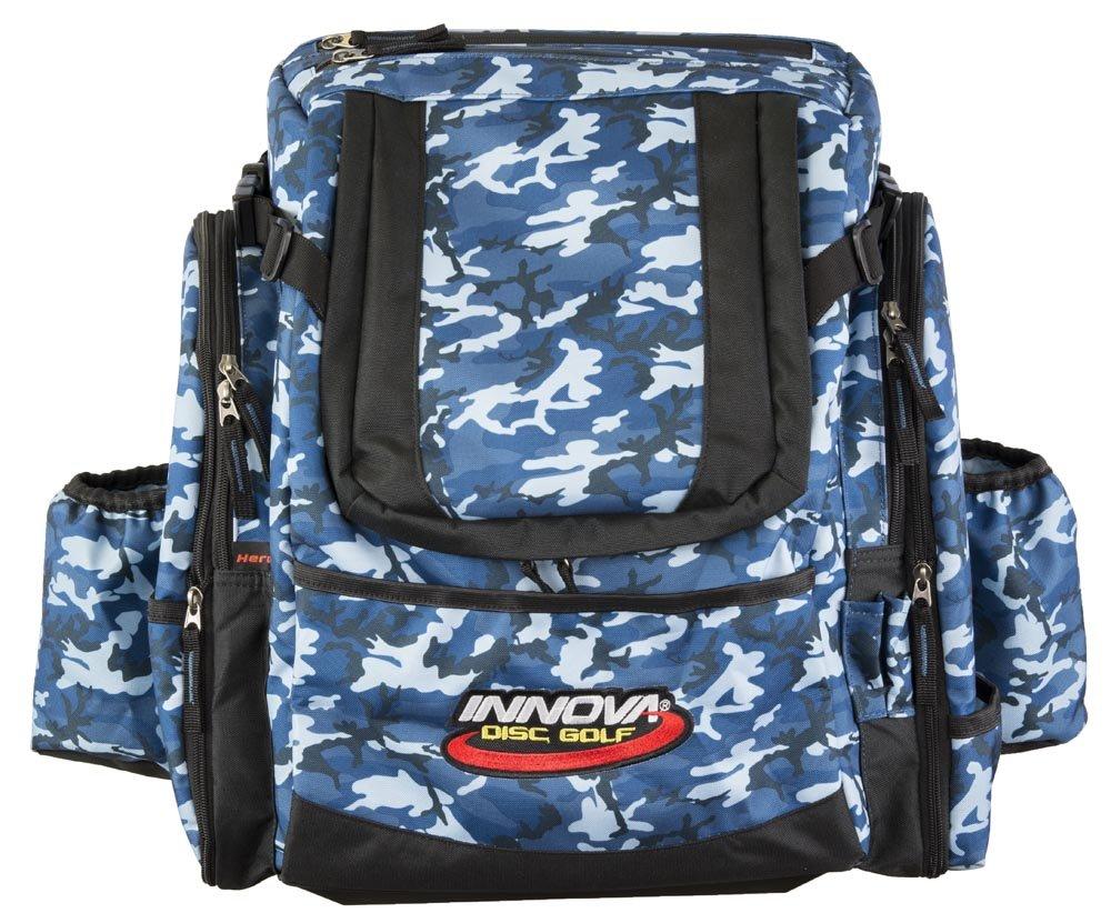 Innova Golf Disc Super Hero Backpack Bag, Blue Camouflage by Innova Disc Golf