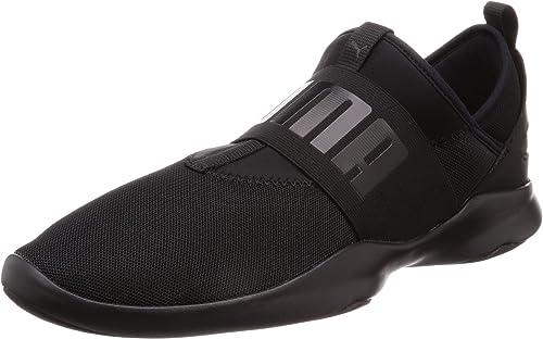 puma trainers black