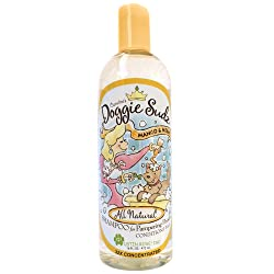 Caroline's Doggie Sudz Mango and Neem Pet Shampoo - Oatmeal Dog Shampoo and Conditioner with Neem Oil and Organic Extracts