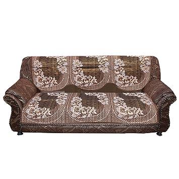 Amazon.com: Kuber Industries Sofa Cover Heavy Cloth 5 Seater Set -10 ...