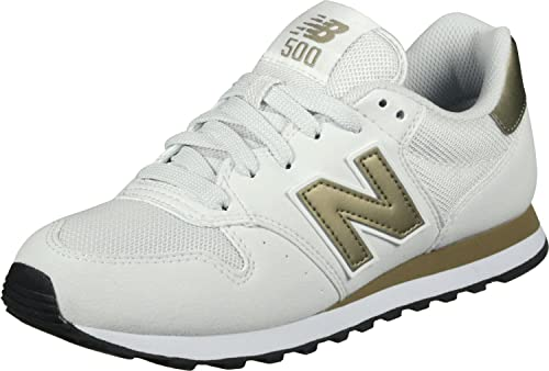 NEW BALANCE 500 scarpa sportiva biancooro
