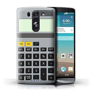Stuff4® Carcasa/Funda Dura para el LG G3 Mini S/D722 / Serie ...