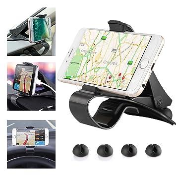 Soporte de teléfono móvil como GPS para salpicadero de coche, para iPhone X, 7