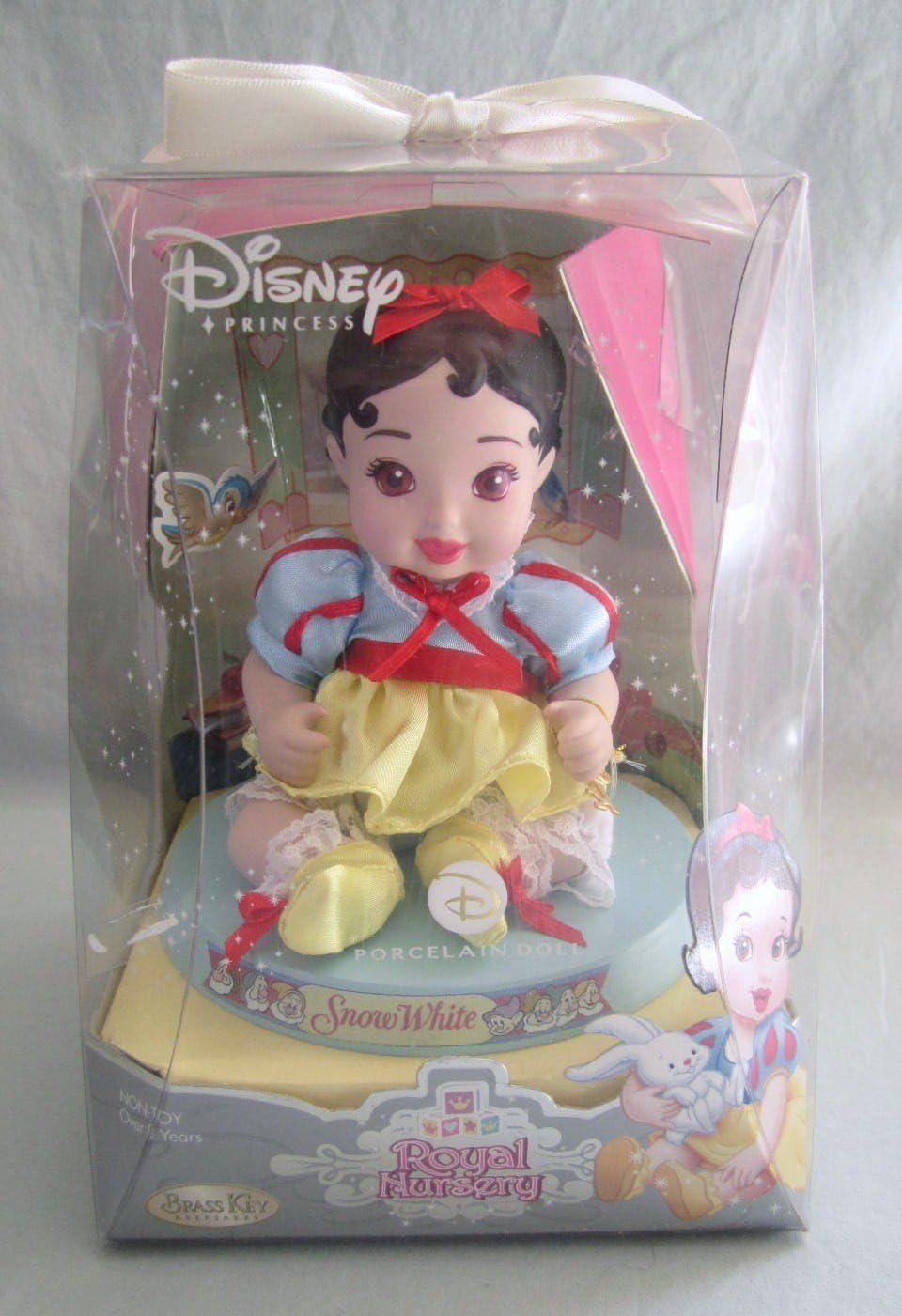Disney 2006 Brass Key Keepsakes - Royal Nursery Princess Snow White Porcelain Doll