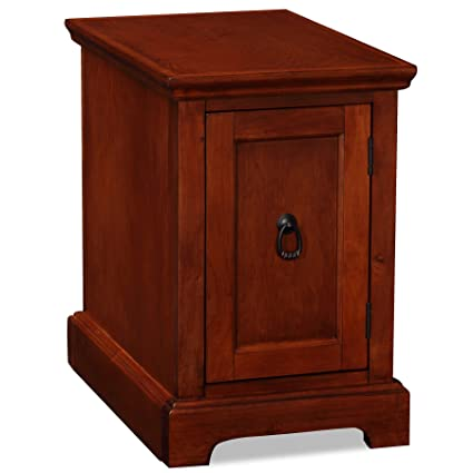 Genial Leick Furniture Westwood Cherry Storage End Table/Printer Stand