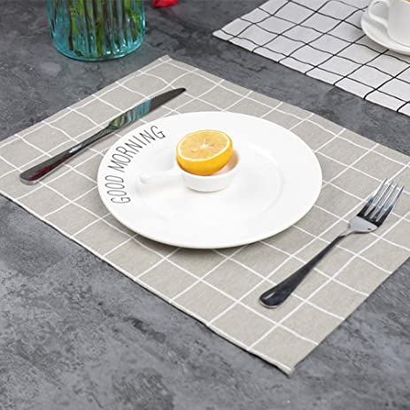 Amazon.com: Transer Placemats Dining Room placemats for dining Table ...