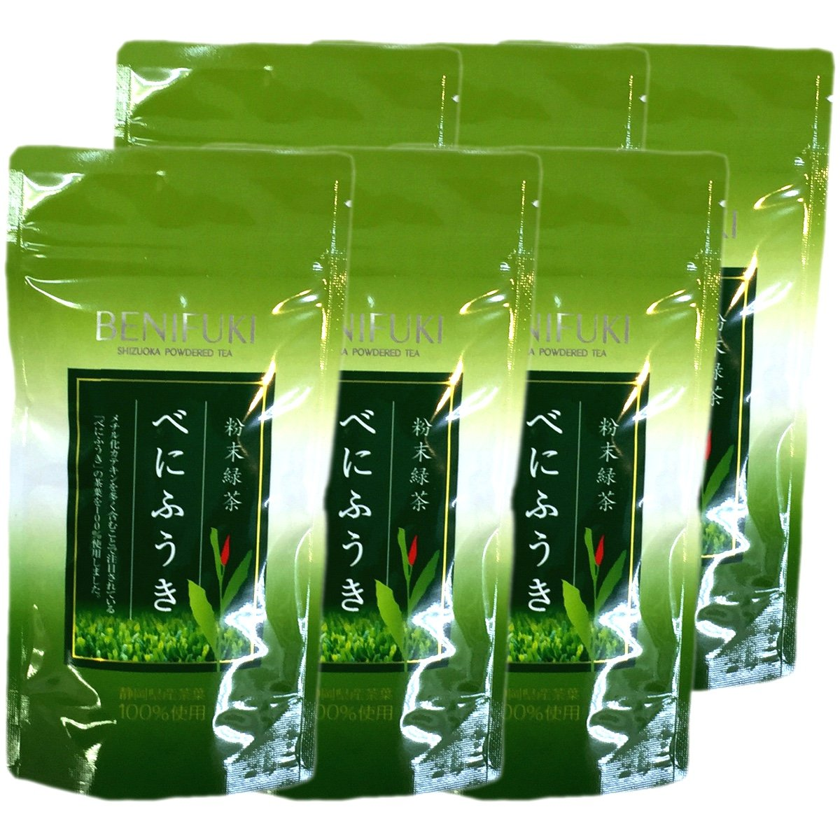 Japanese Tea Shop Yamaneen Benifuuki Powder 40G x 6packs