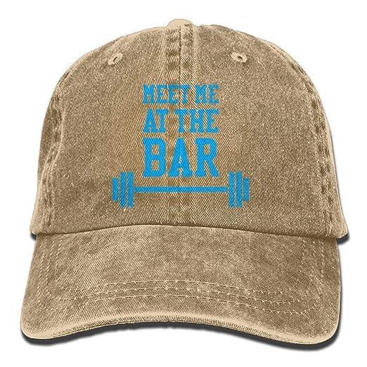 Sombrero clásico de algodón para papá Gorra Lisa Ajustable Gorra ...