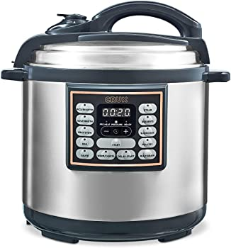 Crux 8-Qt. 10-In-1 Instant Programmable Multi-Cooker