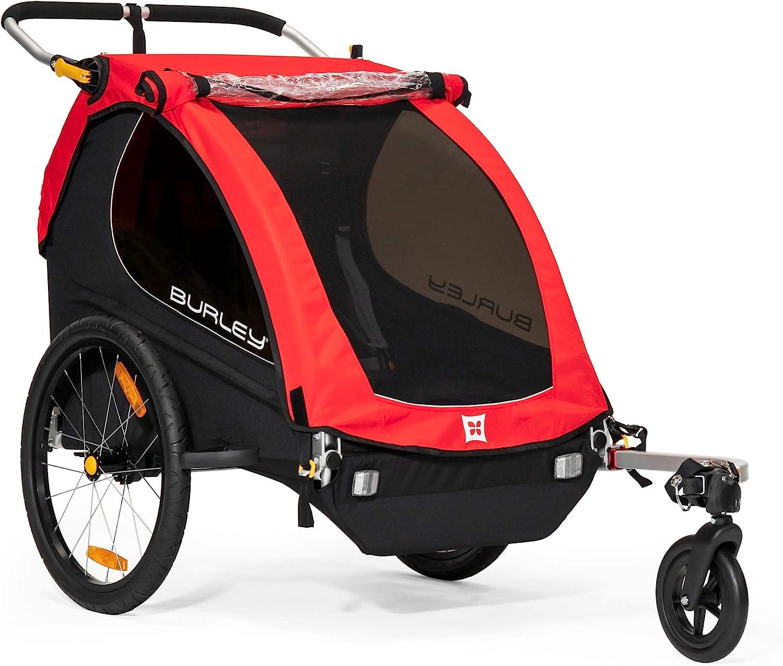 remolque niños bici Burley Unisex MY16 de 2 plazas