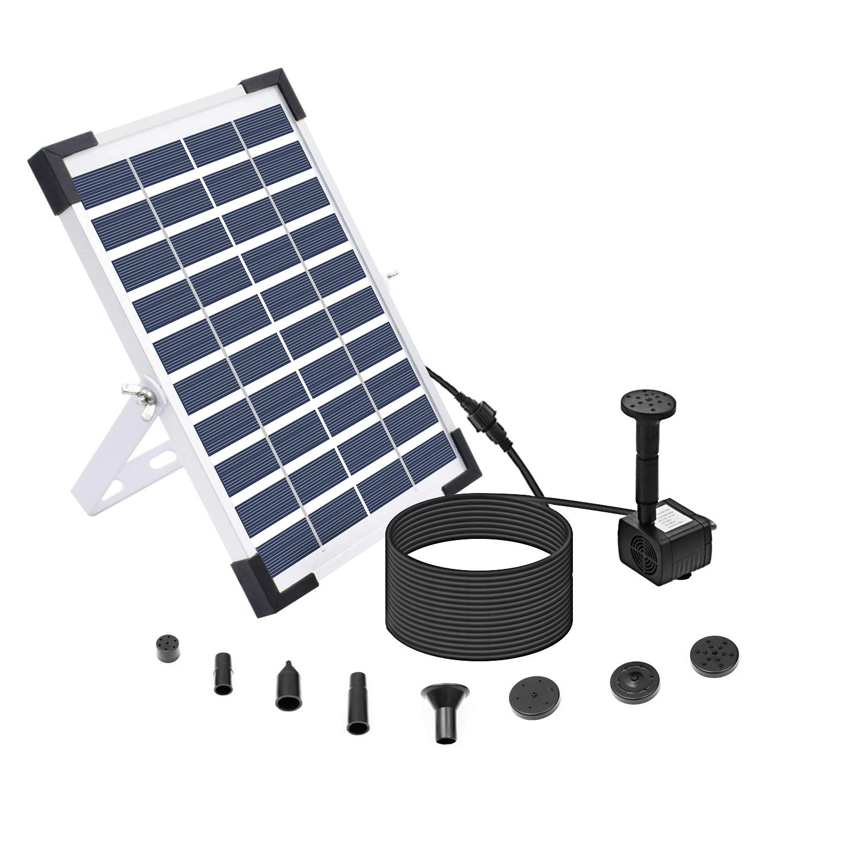 5W Solar Submersible Water Pump Kit