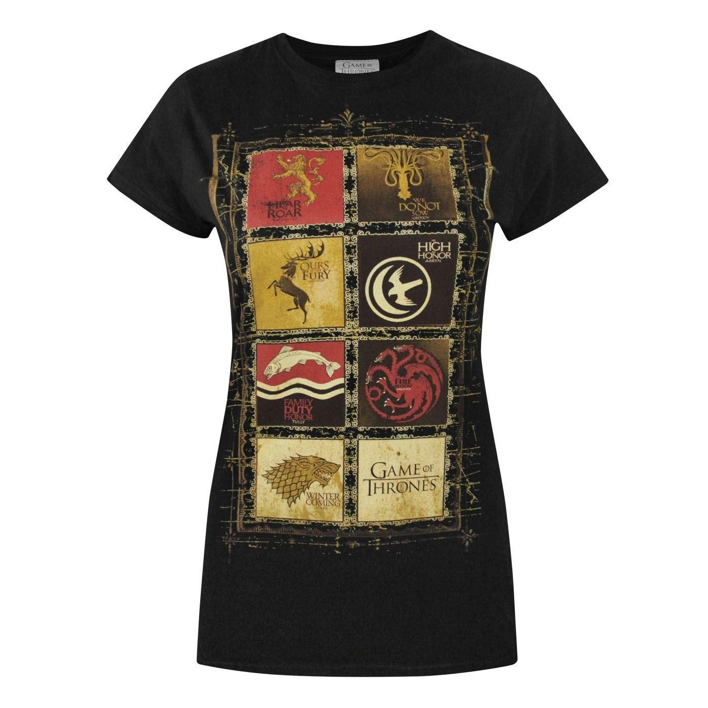 Official Game Of Thrones Block Sigils Women's T-Shirt