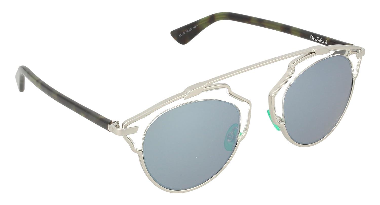 4f4a79719d Christian Dior So Real NSYT7 Palladium Havana   Turquoise Mirror Sunglasses   Dior  Amazon.ca  Clothing   Accessories