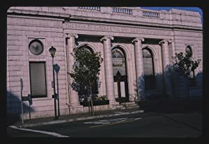 Vintography 16 x 24 Photo of Bank of Eureka and Savings Bank of Humboldt County, Detail, Third and I Streets, Eureka, California 2003 Ready to Frame 16a