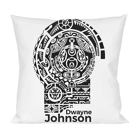 Dwayne Johnson Tattoo Almohada: Amazon.es: Hogar