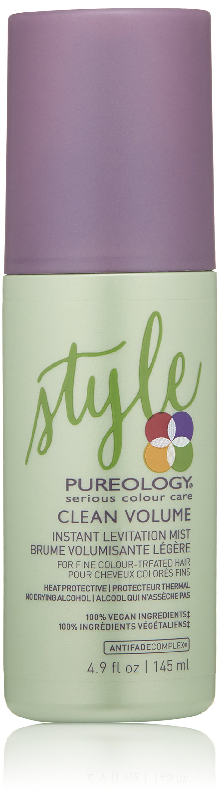 Pureology Clean Volume Instant Levitation Mist, 4.9 Fl Oz