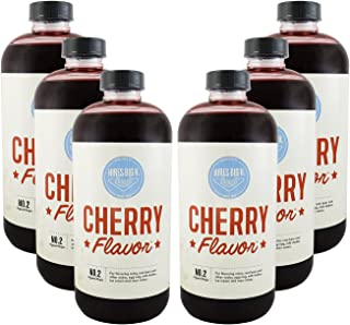 product image for Hires Big H Cherry Syrup, Rich Cherry Flavor Great for Soda Flavoring and so much more 18 oz - 6 Pack