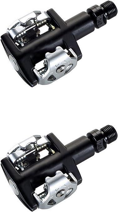 Pedales Automaticos Spd Vp M32 Compatible con Shimano Eje Cnc + ...