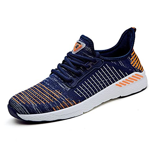 NEOKER Uomo Donna Scarpe da Sportive Running Basse Sneakers Grigio 41 pYEBI