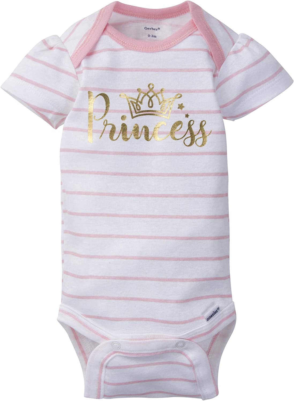 Gerber Baby Girls' 5-Pack Variety Onesies Bodysuits: Clothing