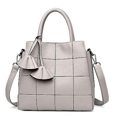 1bcfe788873 Amazon.com: Luxury Handbags Women Bags Designer Genuine Leather ...