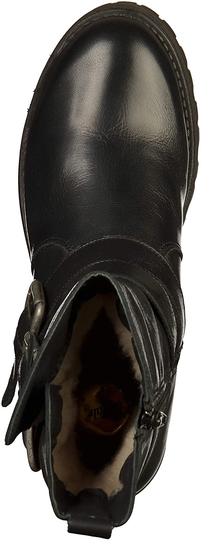 Buffalo Morn Damen Mauve Morn Buffalo Fur Iberocrust Leather Stiefeletten 4954bc