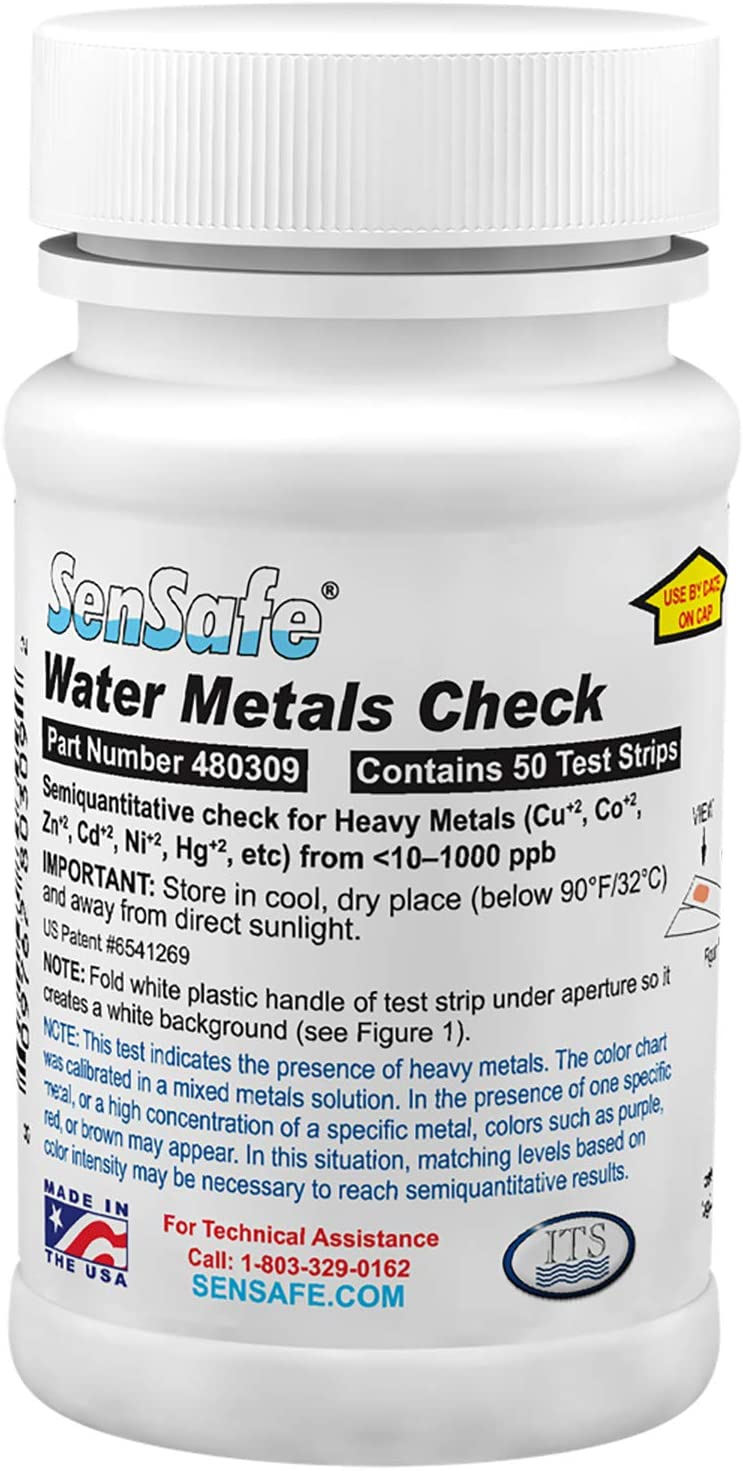 Industrial Test Systems 480309 SenSafe Metals Check