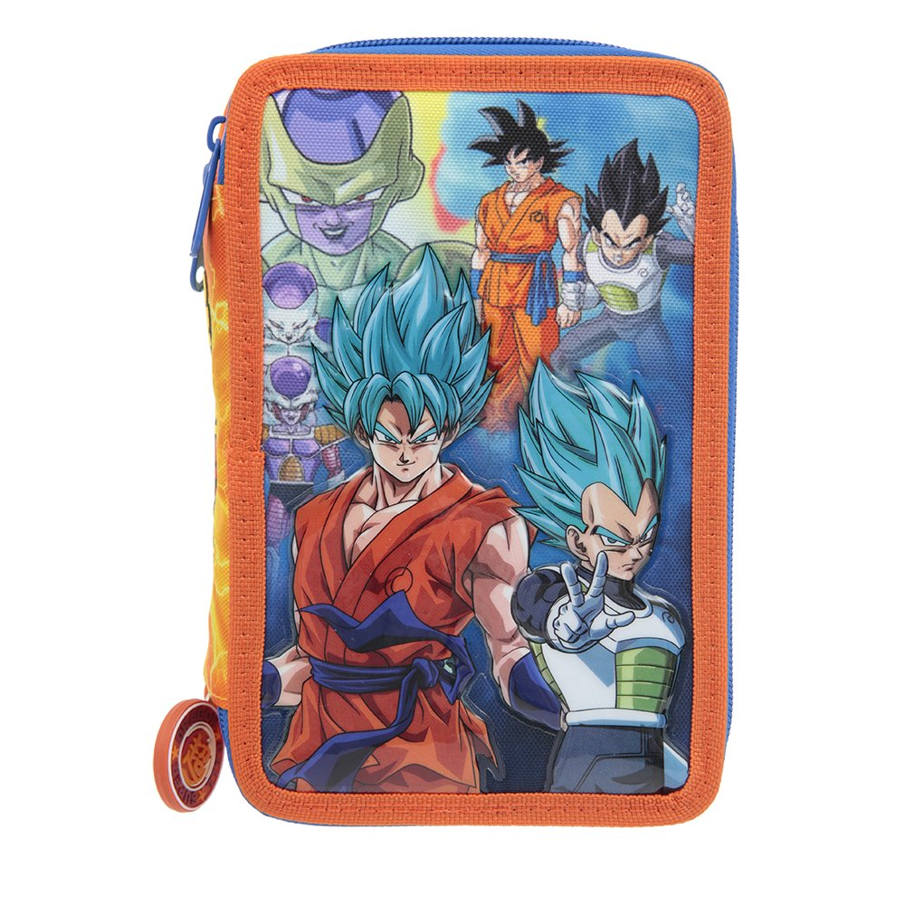 Dragon Ball 18 Astuccio Triplo Funda para Mochila, (Stampato) DR922000