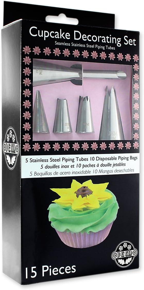 Ataque de tibur/ón PME CUP06 Kit de decoraci/ón para Magdalenas con Divertidos Adornos comestibles