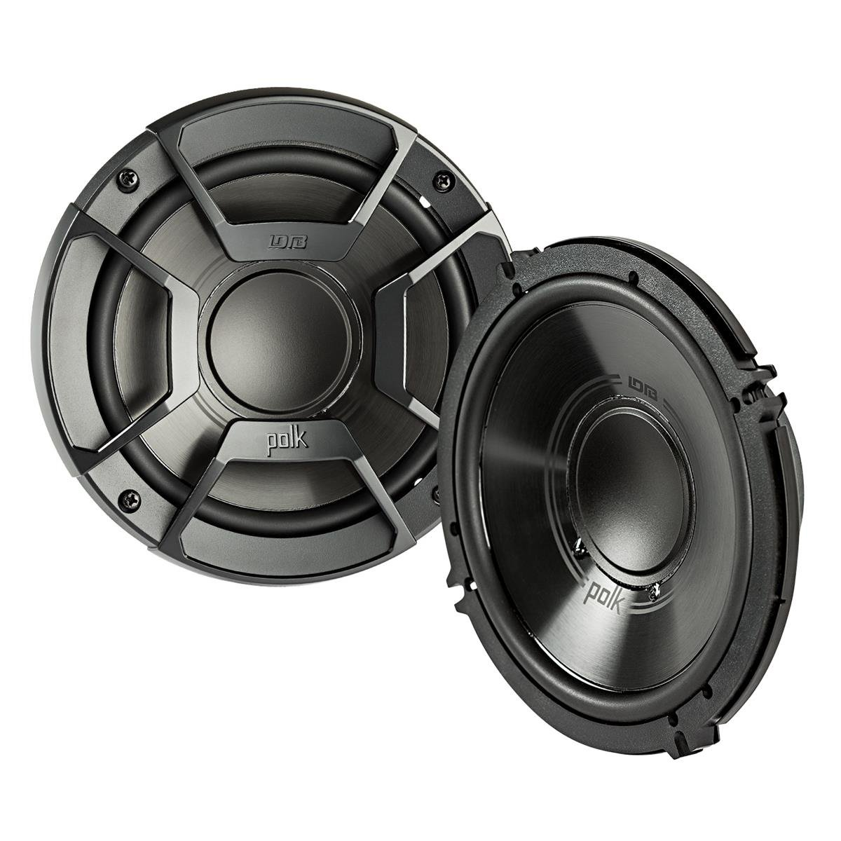 2) Polk Audio DB6502 6.5'' 300W 2 Way Car/Marine ATV Stereo Component Speakers