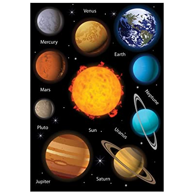 Ashley Productions Solar System Science Die-Cut Magnet: Toys & Games