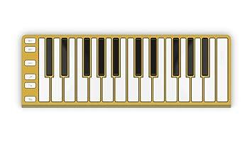 CME KX01U11 - Teclado portátil, color dorado: Amazon.es ...