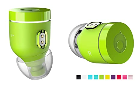 crazybaby Air by (Nano) Cuffie Wireless Bluetooth Originali con Capsula di  Ricarica 36d755542150