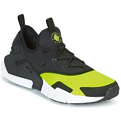 check out 2142e 30fe0 Image Unavailable. Image not available for. Color  Nike Men s AIR Huarache  Drift Running Shoes AH7334 700 Size 14 Volt Black White